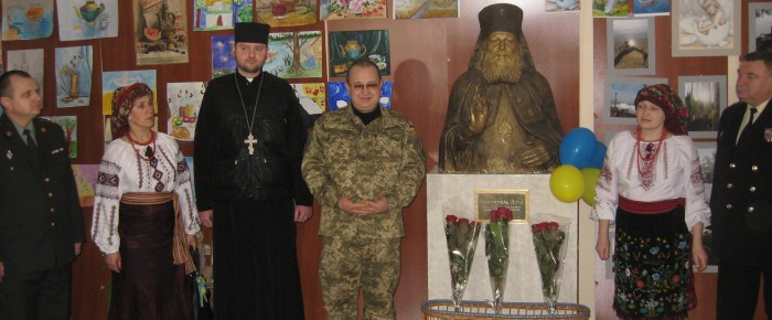 In Irpin military hospital January 13, 2015 was held Christmas performance