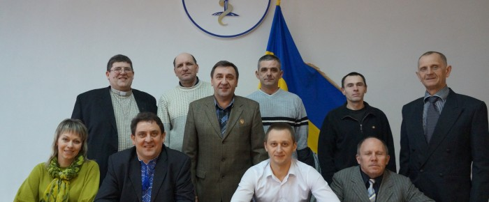The training center training of hospital chaplains held workshops for students of the Kiev Theological Seminary