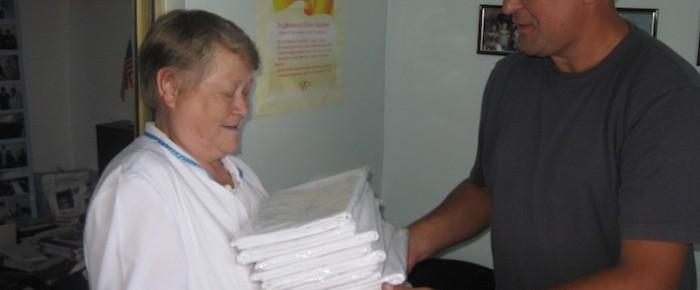 Помощь Черкасской областной больнице уже на протяжении 12 лет