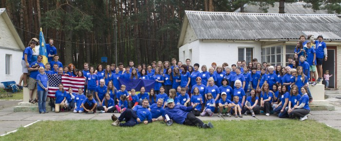 English camp «Olive Branch» 2015