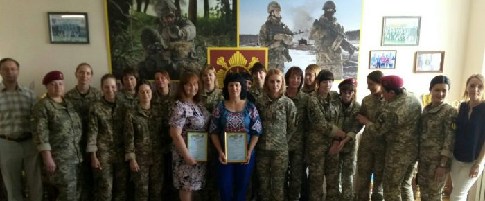 Events of the Olive Branch Women's Military Service for the eight months of 2019